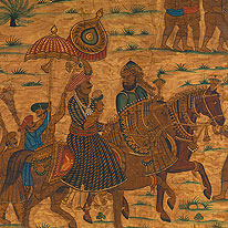 Tipu on horseback